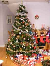 100 beautiful christmas tree decorations ideas (52)