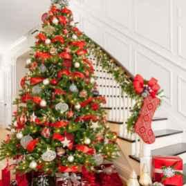 100 beautiful christmas tree decorations ideas (58)