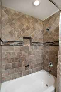 100 best farmhouse bathroom tile shower decor ideas and remodel to inspiring your bathroom (83)