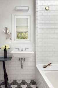 100 best farmhouse bathroom tile shower decor ideas and remodel to inspiring your bathroom (84)