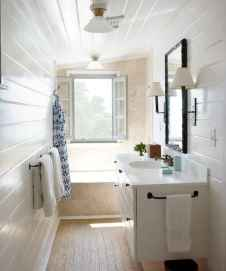 100 best farmhouse bathroom tile shower decor ideas and remodel to inspiring your bathroom (87)