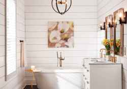 110 absolutely stunning bathroom decor ideas and remodel to inspire your bathroom (29)