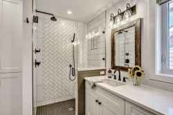 110 absolutely stunning bathroom decor ideas and remodel to inspire your bathroom (66)