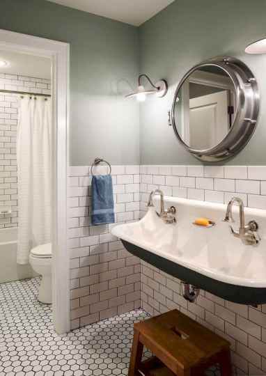 110 absolutely stunning bathroom decor ideas and remodel to inspire your bathroom (69)