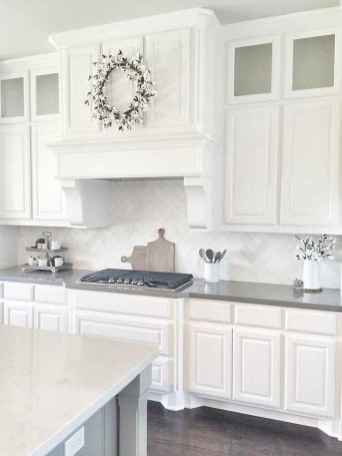 120 awesome farmhouse kitchen design ideas and remodel to inspire your kitchen (110)
