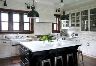 120 awesome farmhouse kitchen design ideas and remodel to inspire your kitchen (116)