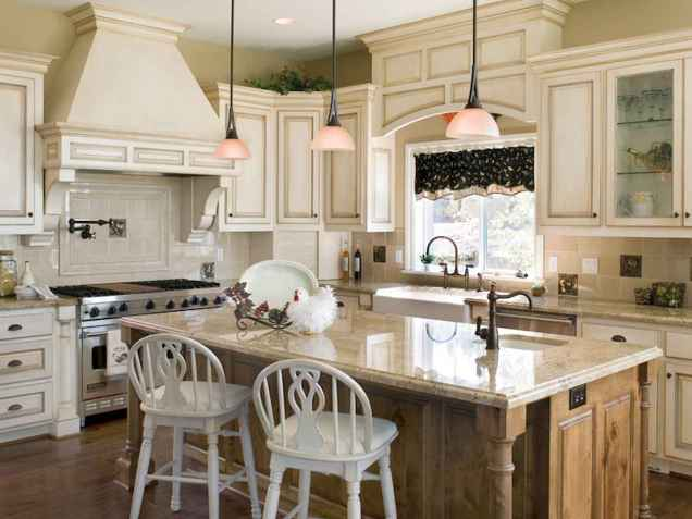 120 awesome farmhouse kitchen design ideas and remodel to inspire your kitchen (120)