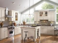 120 awesome farmhouse kitchen design ideas and remodel to inspire your kitchen (5)