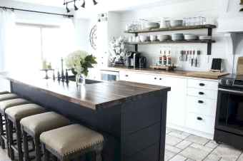 120 awesome farmhouse kitchen design ideas and remodel to inspire your kitchen (52)