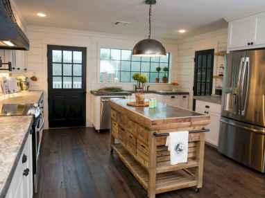 120 awesome farmhouse kitchen design ideas and remodel to inspire your kitchen (64)