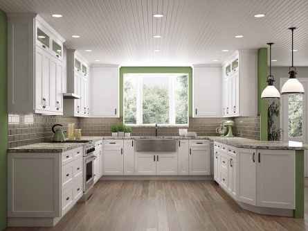 120 awesome farmhouse kitchen design ideas and remodel to inspire your kitchen (90)