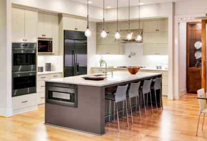 120 awesome farmhouse kitchen design ideas and remodel to inspire your kitchen (91)
