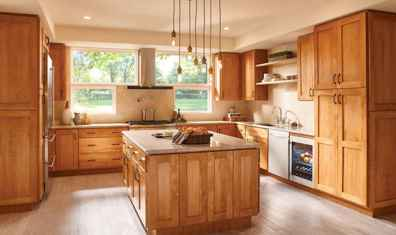 120 awesome farmhouse kitchen design ideas and remodel to inspire your kitchen (97)