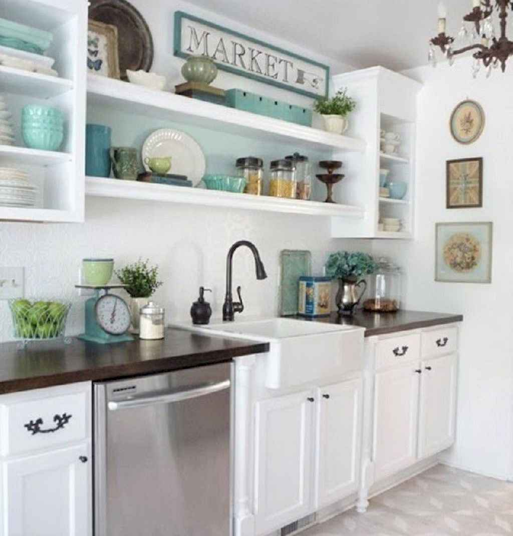 120 beautiful small kitchen design ideas and remodel to inspire your kitchen beautiful (10)