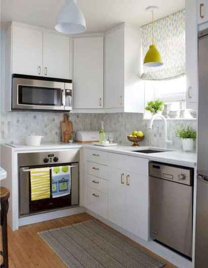 120 beautiful small kitchen design ideas and remodel to inspire your kitchen beautiful (105)