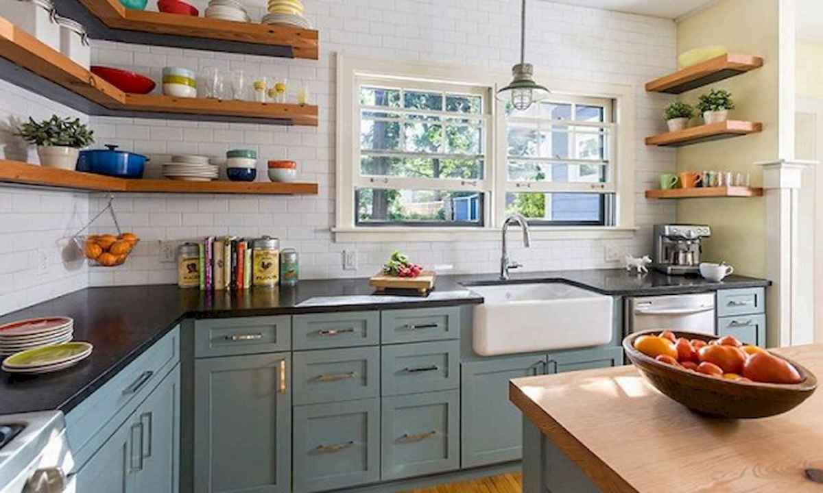 120 beautiful small kitchen design ideas and remodel to inspire your kitchen beautiful (107)