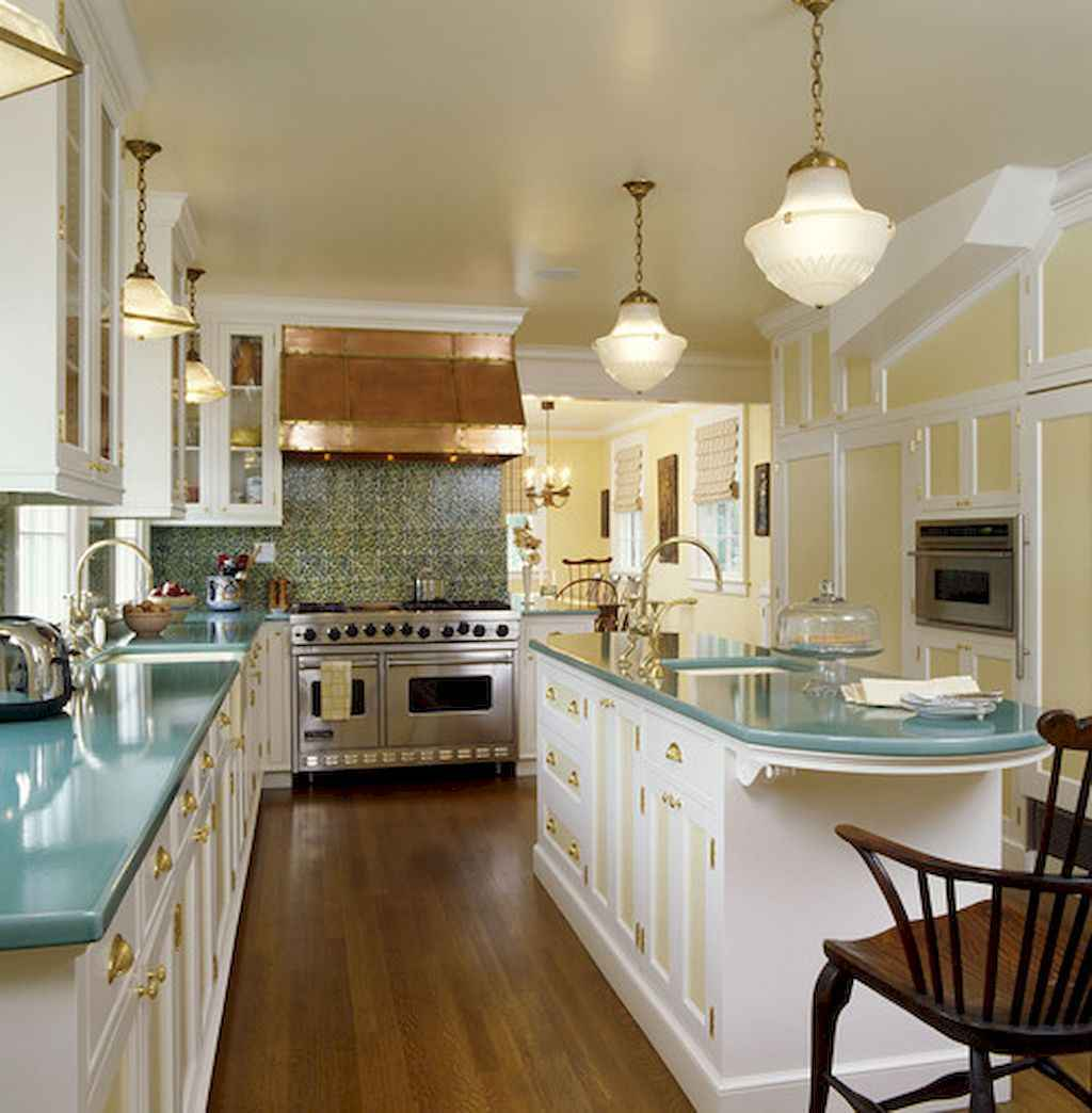 120 beautiful small kitchen design ideas and remodel to inspire your kitchen beautiful (113)