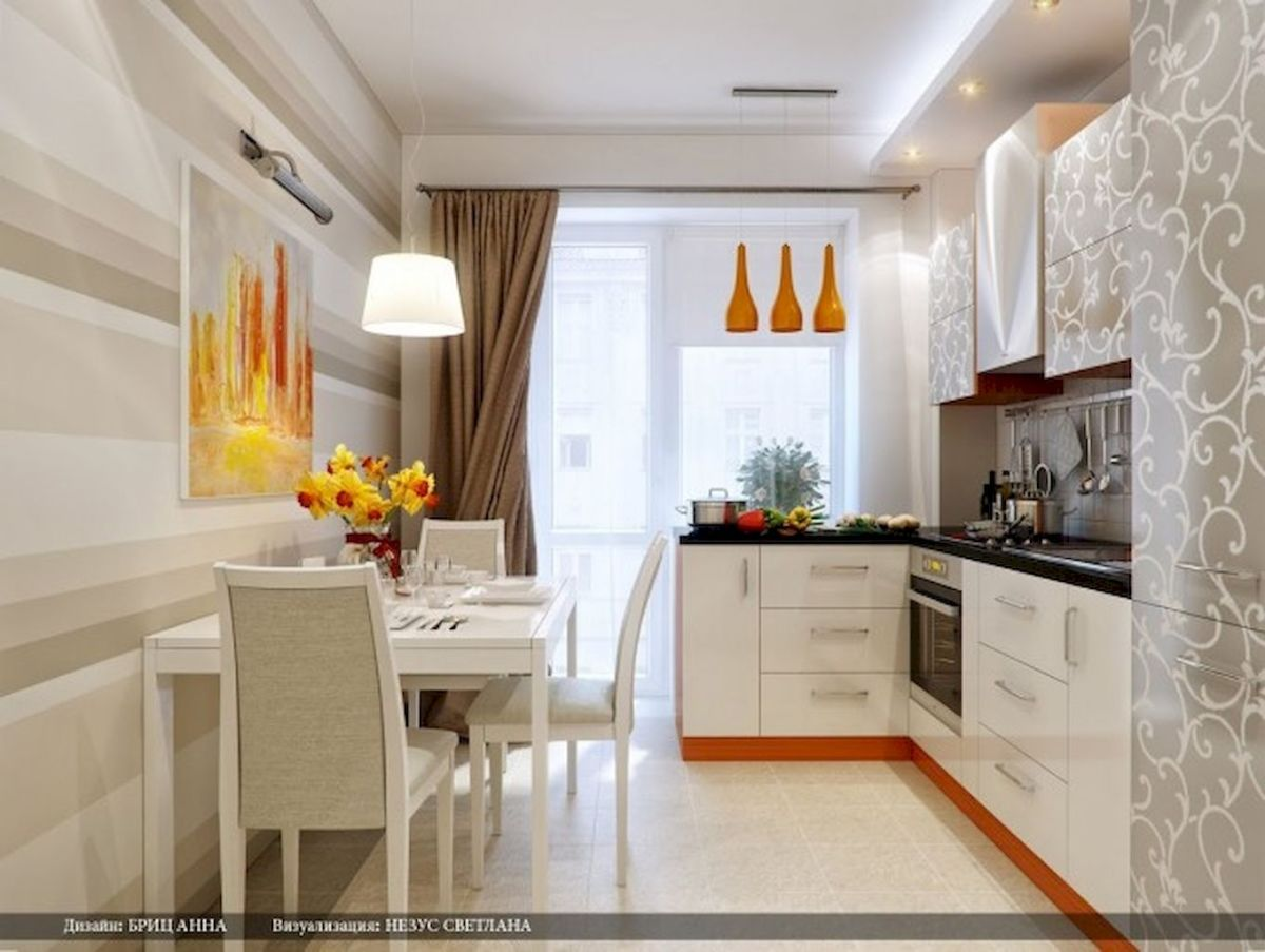 120 beautiful small kitchen design ideas and remodel to inspire your kitchen beautiful (14)