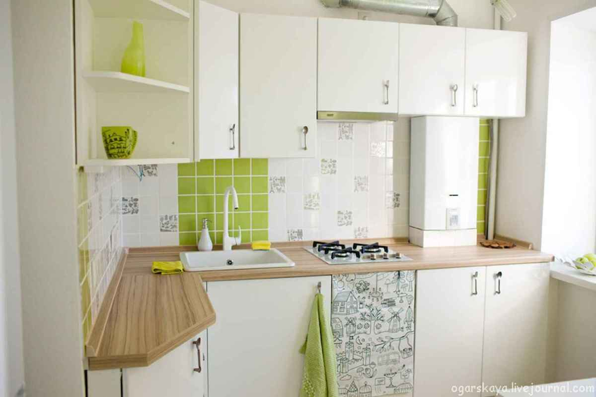 120 beautiful small kitchen design ideas and remodel to inspire your kitchen beautiful (20)