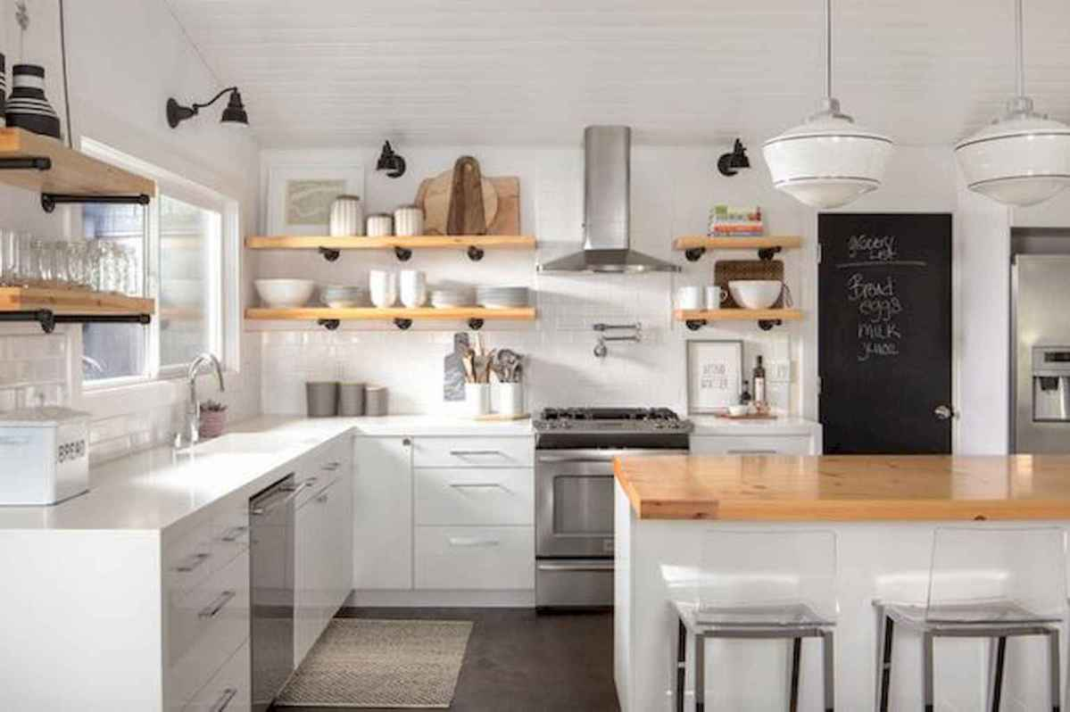 120 beautiful small kitchen design ideas and remodel to inspire your kitchen beautiful (51)