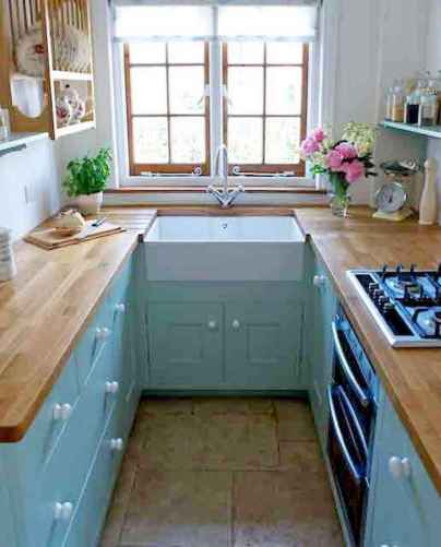 120 beautiful small kitchen design ideas and remodel to inspire your kitchen beautiful (52)