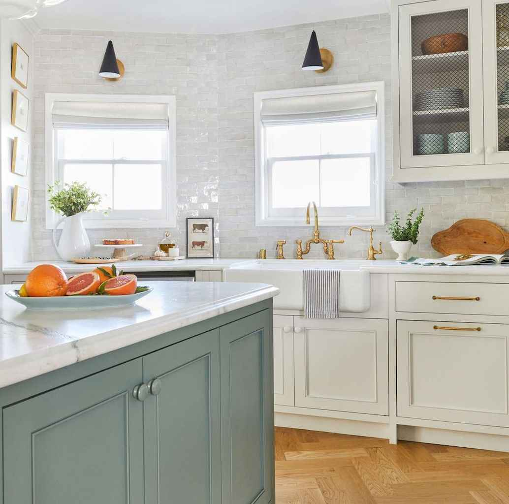 120 beautiful small kitchen design ideas and remodel to inspire your kitchen beautiful (53)