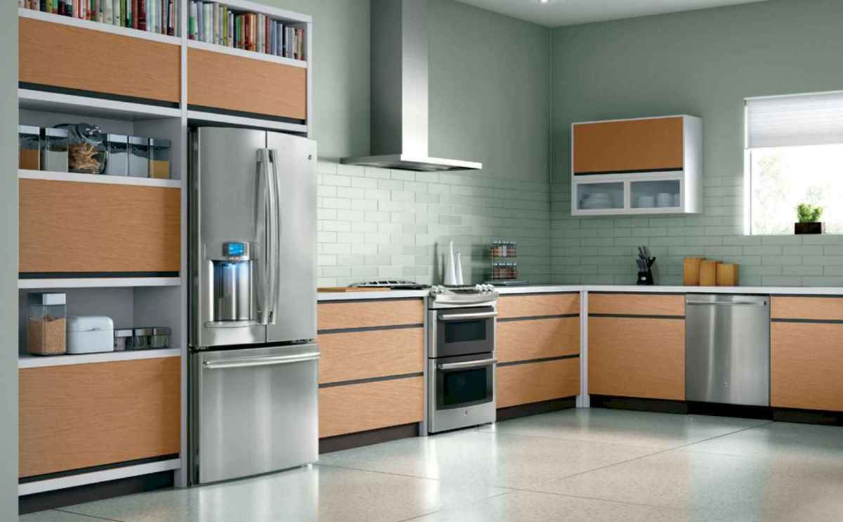 120 beautiful small kitchen design ideas and remodel to inspire your kitchen beautiful (56)