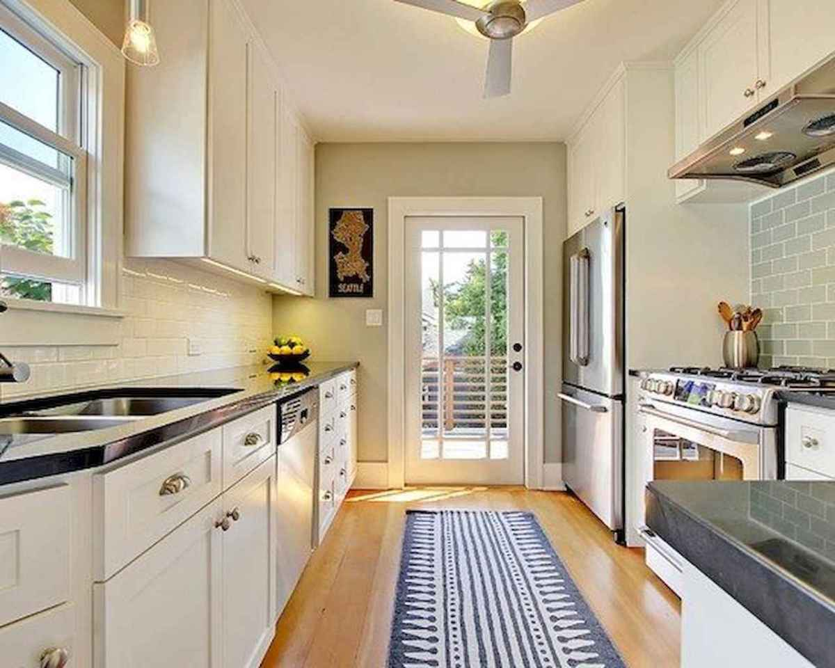 120 beautiful small kitchen design ideas and remodel to inspire your kitchen beautiful (79)