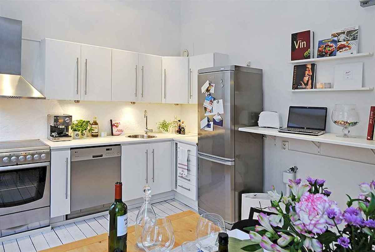 120 beautiful small kitchen design ideas and remodel to inspire your kitchen beautiful (95)