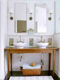 120 best modern farmhouse bathroom design ideas and remodel to inspire your bathroom (101)
