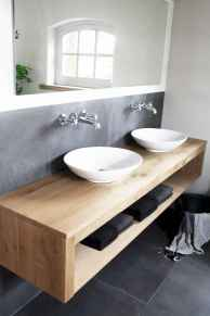 120 best modern farmhouse bathroom design ideas and remodel to inspire your bathroom (16)