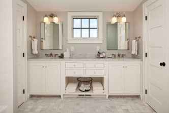 120 best modern farmhouse bathroom design ideas and remodel to inspire your bathroom (45)