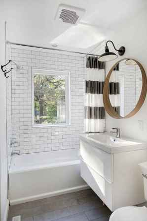 120 best modern farmhouse bathroom design ideas and remodel to inspire your bathroom (56)