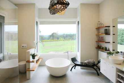 120 best modern farmhouse bathroom design ideas and remodel to inspire your bathroom (6)