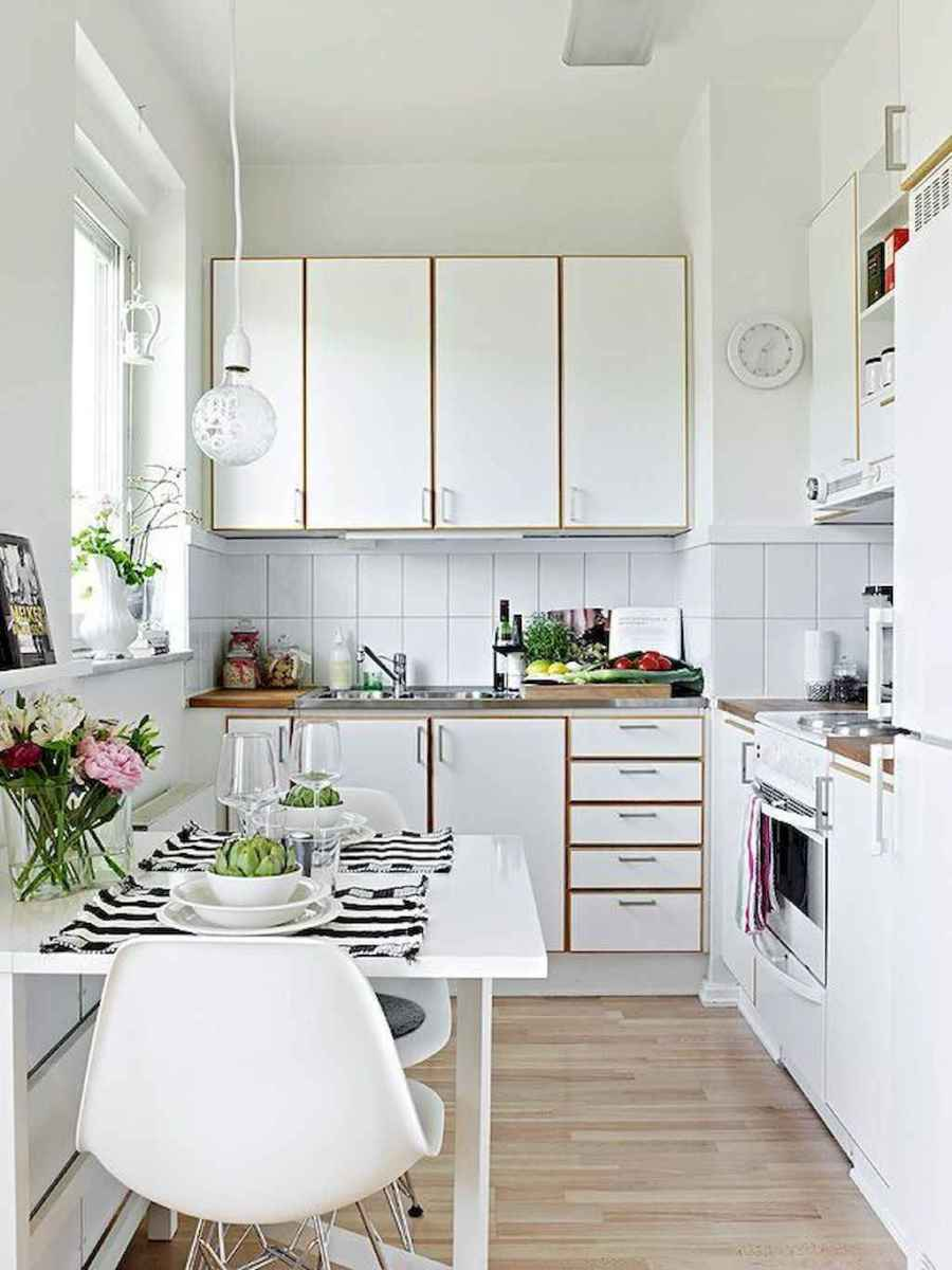 120 inspiring tiny kitchen design ideas and remodel (18)