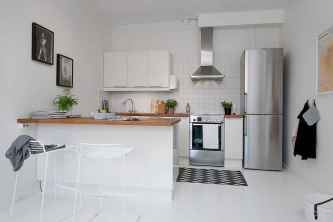 120 inspiring tiny kitchen design ideas and remodel (26)