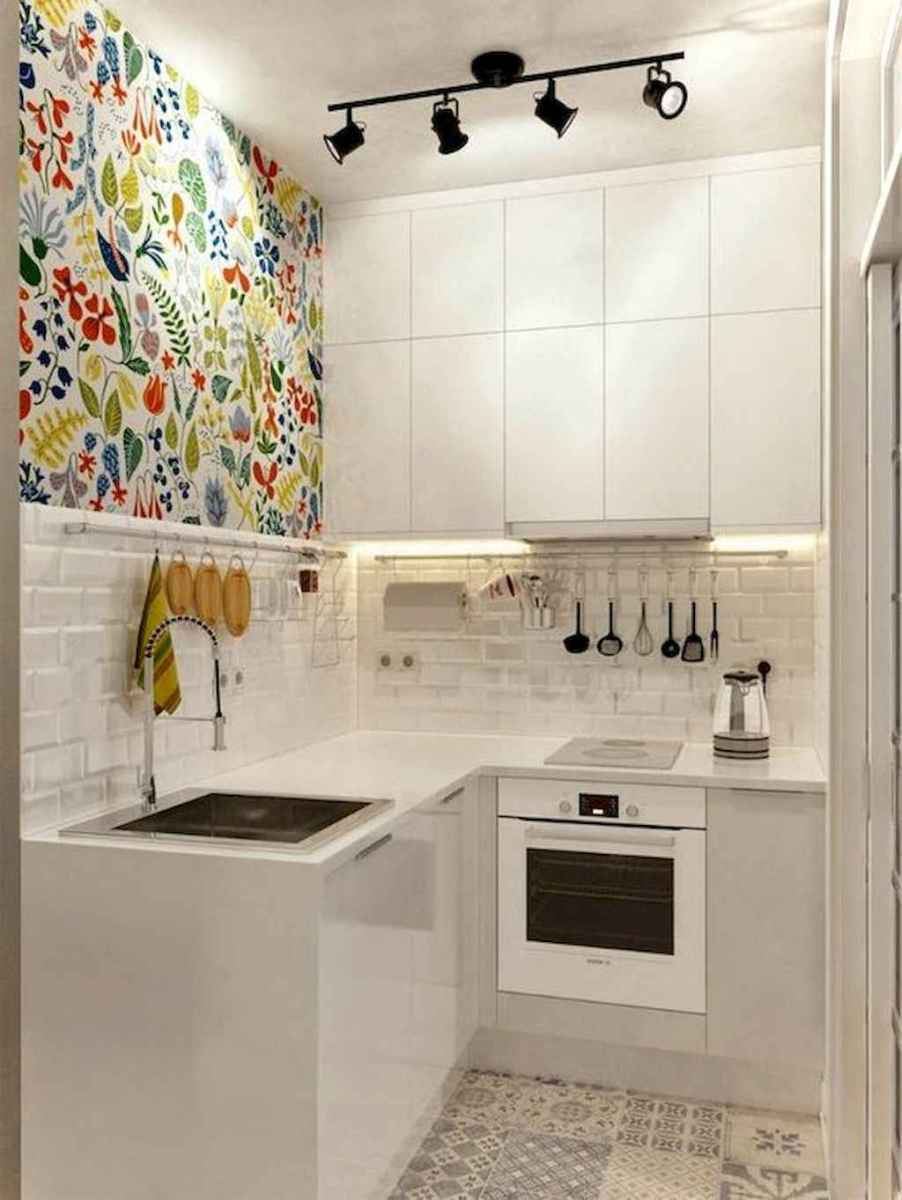 120 inspiring tiny kitchen design ideas and remodel (52)