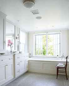 150 stunning farmhouse bathroom tile floor decor ideas and remodel to inspire your bathroom (104)