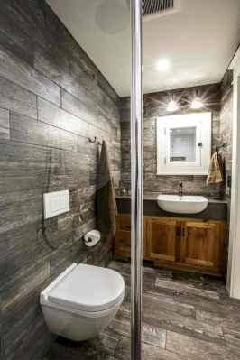 150 stunning farmhouse bathroom tile floor decor ideas and remodel to inspire your bathroom (132)
