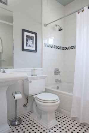 150 stunning farmhouse bathroom tile floor decor ideas and remodel to inspire your bathroom (134)