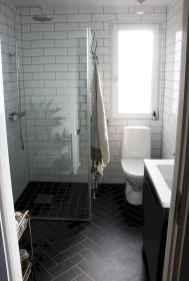 150 stunning farmhouse bathroom tile floor decor ideas and remodel to inspire your bathroom (25)