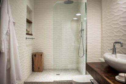 150 stunning farmhouse bathroom tile floor decor ideas and remodel to inspire your bathroom (3)