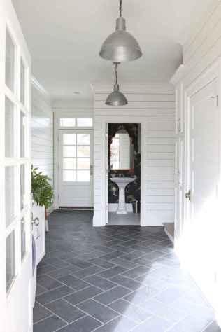 150 stunning farmhouse bathroom tile floor decor ideas and remodel to inspire your bathroom (43)