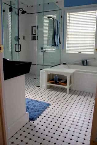 150 stunning farmhouse bathroom tile floor decor ideas and remodel to inspire your bathroom (44)