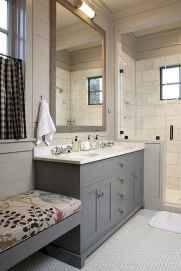 150 stunning small farmhouse bathroom decor ideas and remoddel to inspire your bathroom (107)