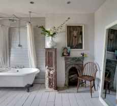 150 stunning small farmhouse bathroom decor ideas and remoddel to inspire your bathroom (139)