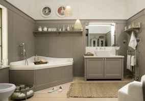 150 stunning small farmhouse bathroom decor ideas and remoddel to inspire your bathroom (58)