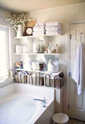150 stunning small farmhouse bathroom decor ideas and remoddel to inspire your bathroom (77)