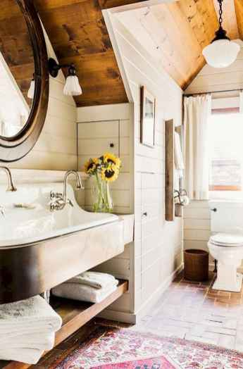 150 stunning small farmhouse bathroom decor ideas and remoddel to inspire your bathroom (94)