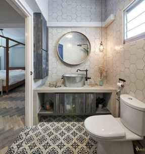 150 stunning small farmhouse bathroom decor ideas and remoddel to inspire your bathroom (95)